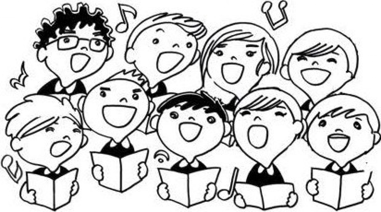 Boys Summer Singing Camp - a good way to practise English and have fun!