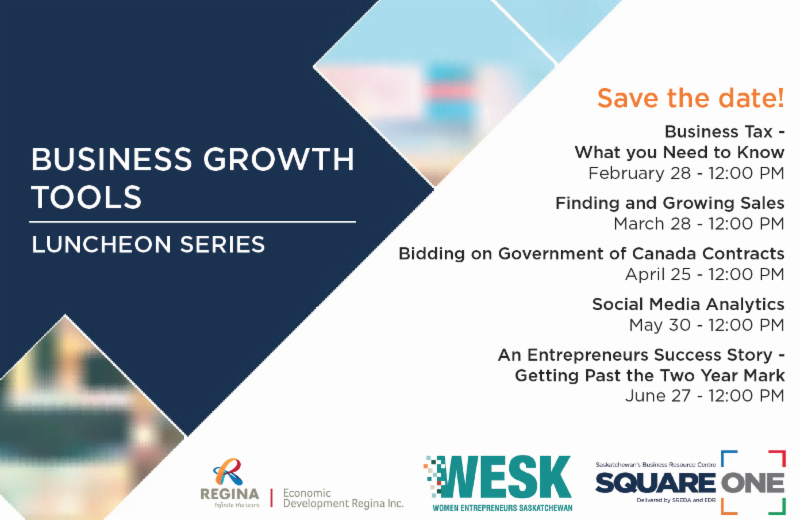 Business Growth Tools: Luncheon Series in Regina - Image 1
