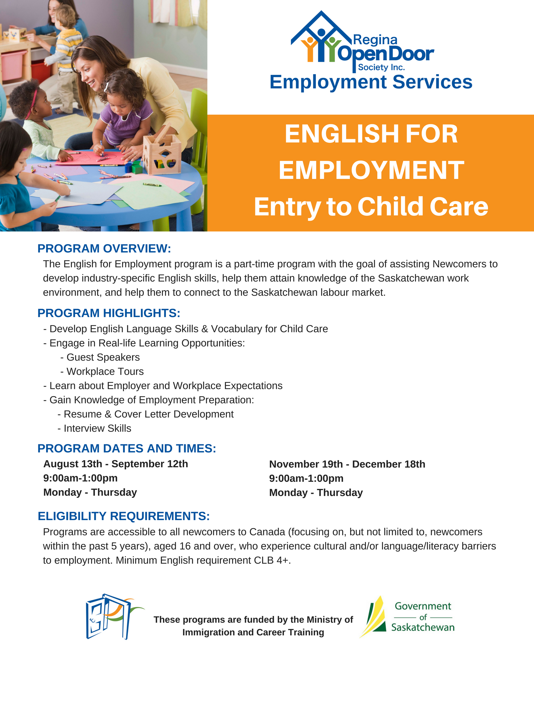English for Employment Entry to Childcare - Image 1