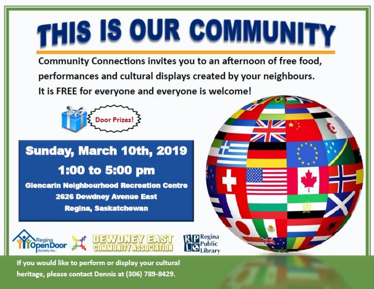 Family Friendly Cultural Event - this Sunday!
