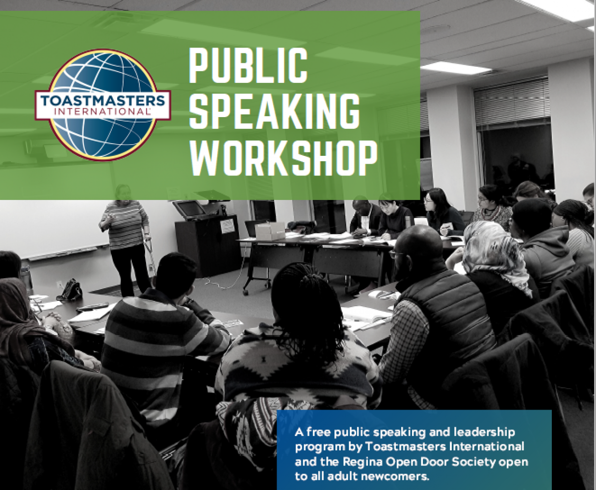 Public Speaking Workshop for Newcomers