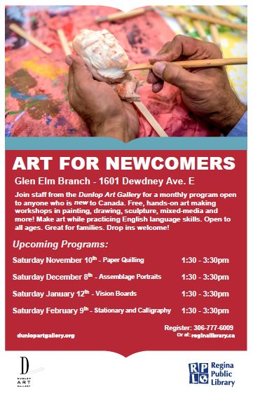 Free Art Program for Newcomers - Image 1
