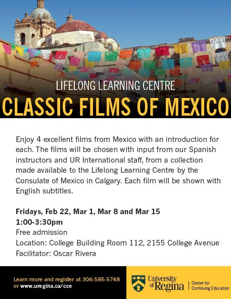 Free Mexican Film Series - Starting February 22nd - Image 1