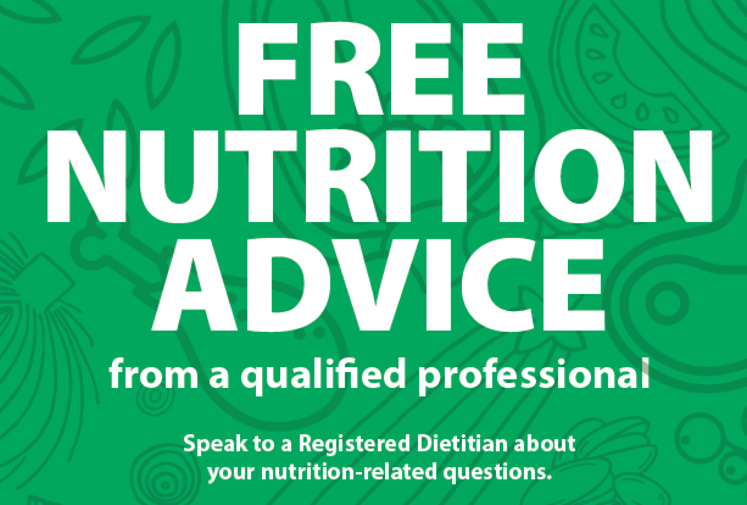 Free Nutrition Advice - Available in over 200 languages