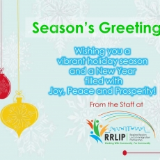 Holiday Greetings from the RRLIP Staff!