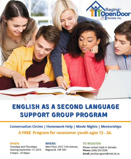 Homework Help Program for Newcomer Youth  - Image 1