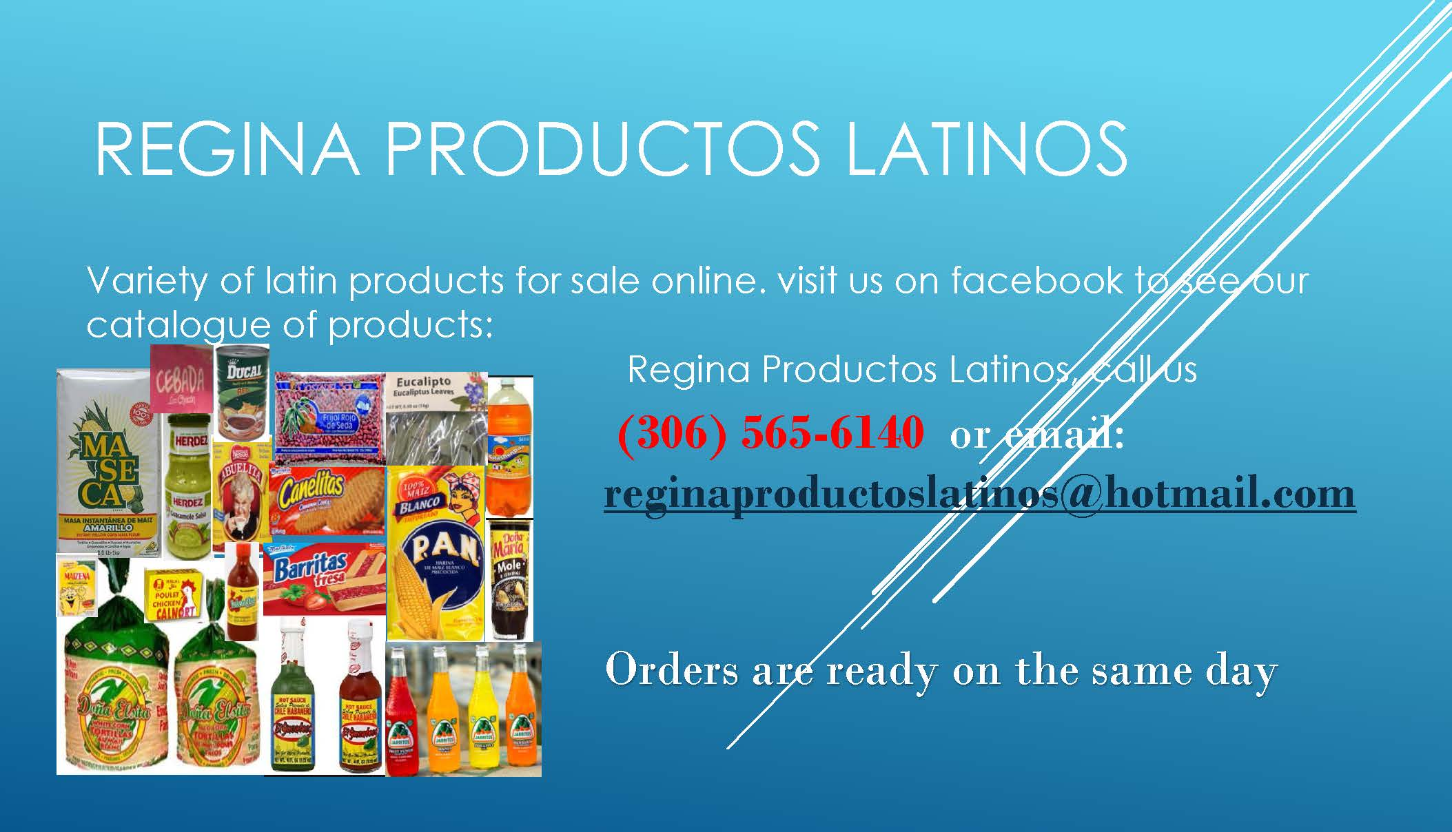 Latino online store in Regina!  The Ethnic Grocery Store list will be updated in the New Year!   - Image 1