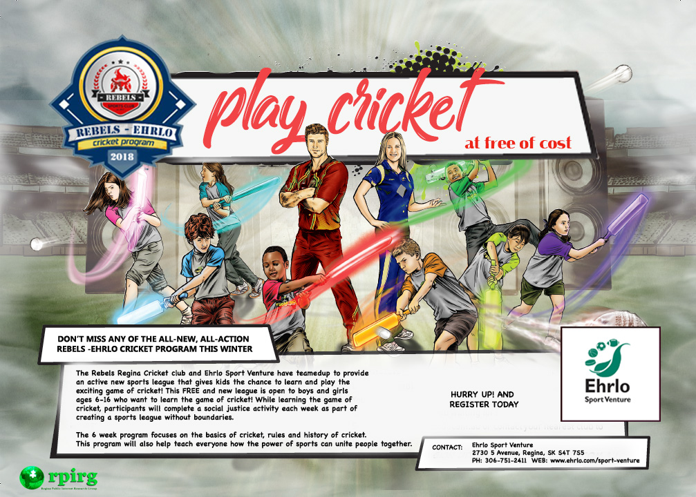 Learn to play Cricket!  Free for Kids 6-16! - Image 1