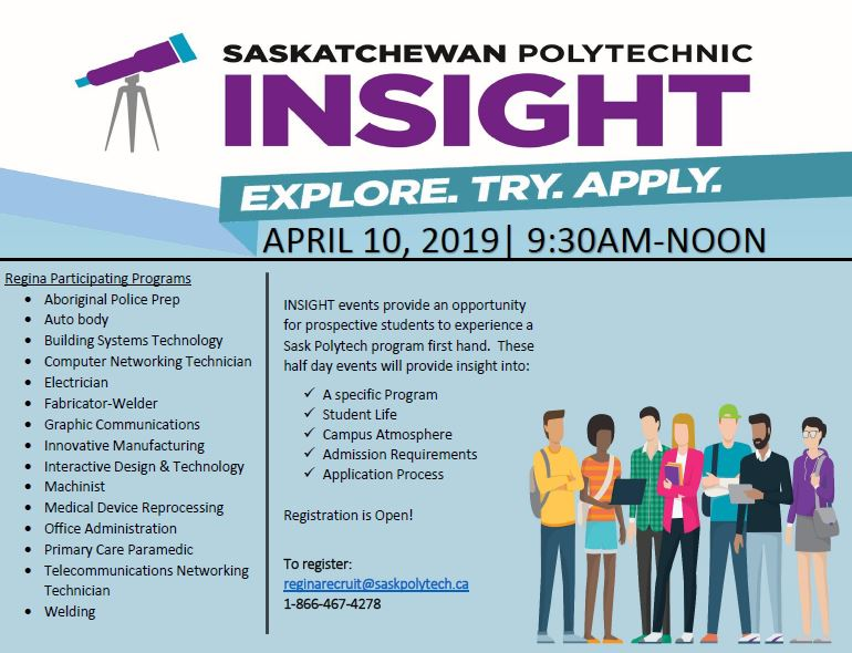 One Day Opportunity to Try Programs at Saskatchewan Polytech - Image 1