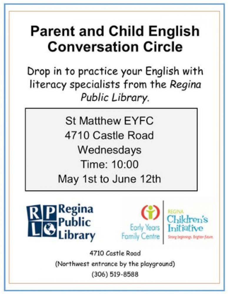 Parent and Child English Language Practice Group