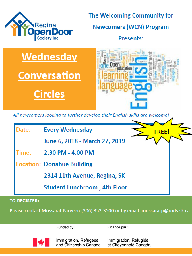Practice Your English at Wednesday Conversation Circles - Image 1