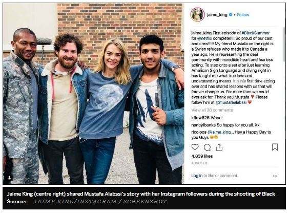 Regina Student from Syria to Star in Netflix Series - Image 1