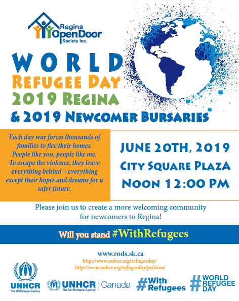 World Refugee Day - Thursday, June 20th - Image 1