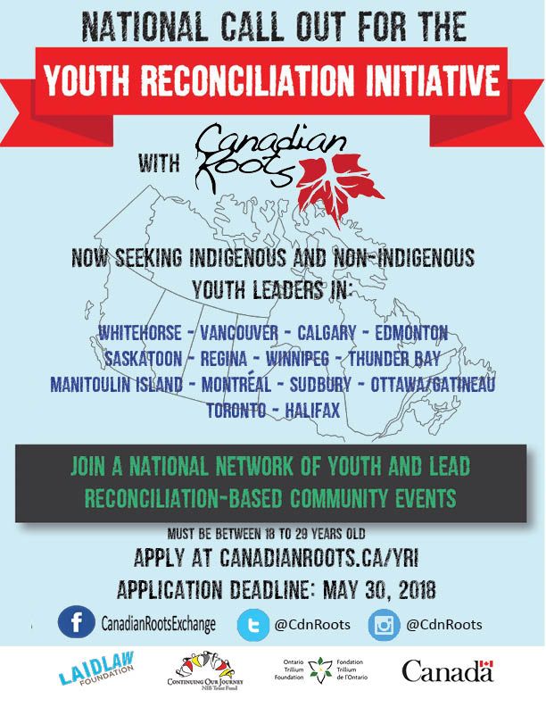 Youth - leadership training opportunity.  Strengthening relationships between indigenous and non-indigenous youth - Image 1
