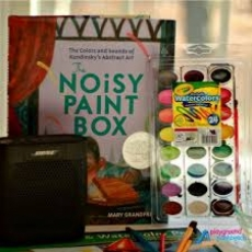 Free! Noisy Paint-Box Adventures! Ages 9-12! Registration Required!