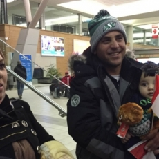 First group of Syrian Refugees Arrive in Regina