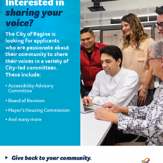 The City of Regina is Encouraging People from Diverse Backgrounds to Join Their Boards and Committees