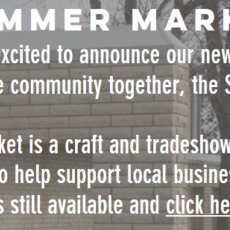 Summer Bash's Summer Market - Sunday, Aug. 11th