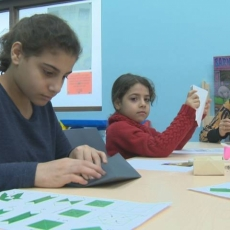 Library-based program helps immigrants learn language through art