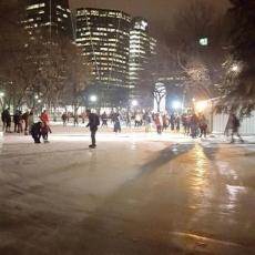 Free Skating in Victoria Park - Downtown!