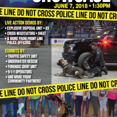 Regina Police showcase!  Free show!  June 7th