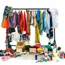 Free used clothing give-away at Mount Olive Church. Saturday, September 23.