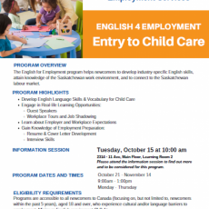 Are you interested in a career in the Childcare Industry?