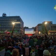 Free Movies on Wednesday Nights - Cinema Under the Stars!  Starting July 5, 2017