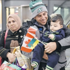 First Government Sponsored Syrian Refugees Arrive in Regina!