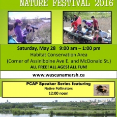 FREE! Wings Over Wascana  Nature Festival 2016! Saturday May 28!