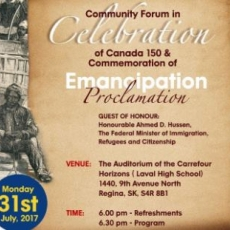 Community Forum - Immigration, Settlement and Integration, the importance of Understanding History, Respect of Diversity & the Benefits of Equitable Inclusion.  Tonight!