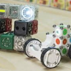 Free! Create With Cubelets!  Ages 7-10!  At the Library!