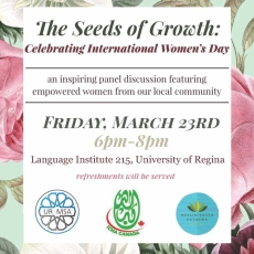 The Seeds of Growth Event celebrating International Women's Day.  A project of the ICNA for empowering Youth