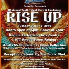 Youth Talent Show and Fundraiser!!  April 19th!