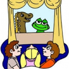 Free!  Puppet Shows at the Library!  Ages 4 and Up!