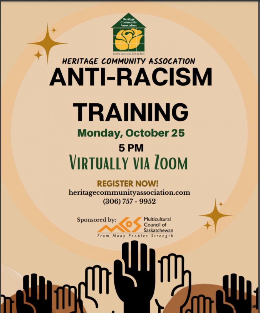 Anti-Racism Training!