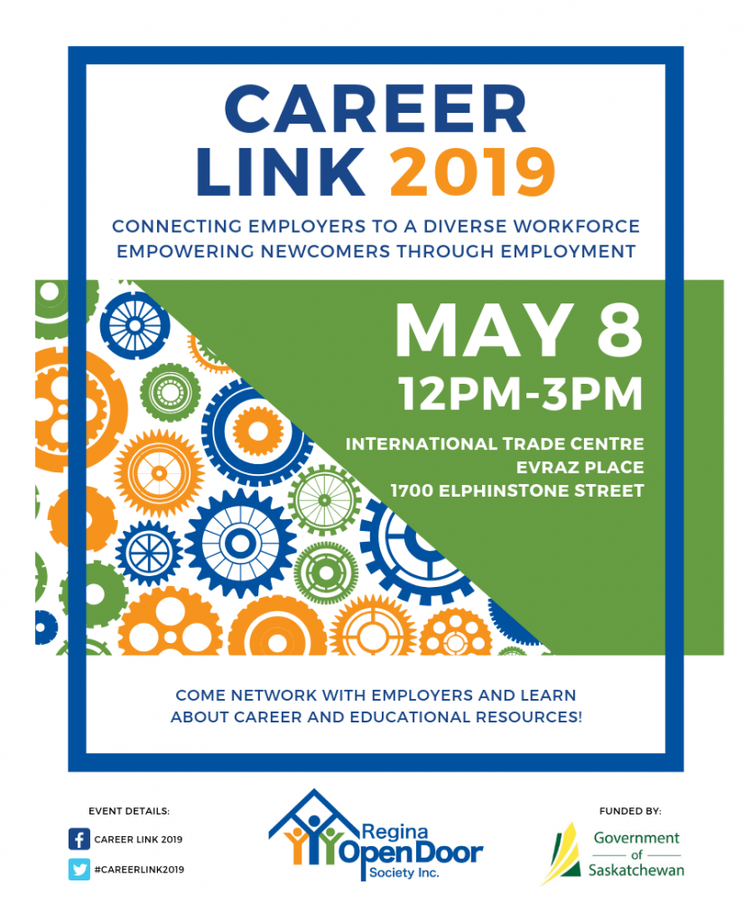 Career Fair for Newcomers - Wednesday, May 8th