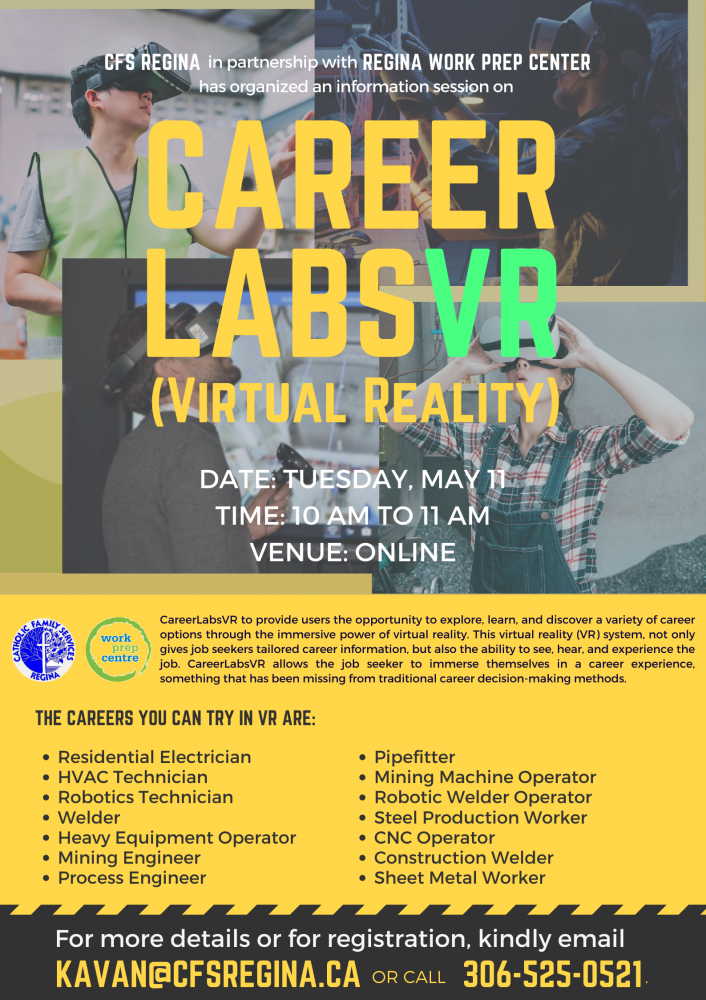 Experience Your Trade Using Virtual Reality - Tuesday, May 11th