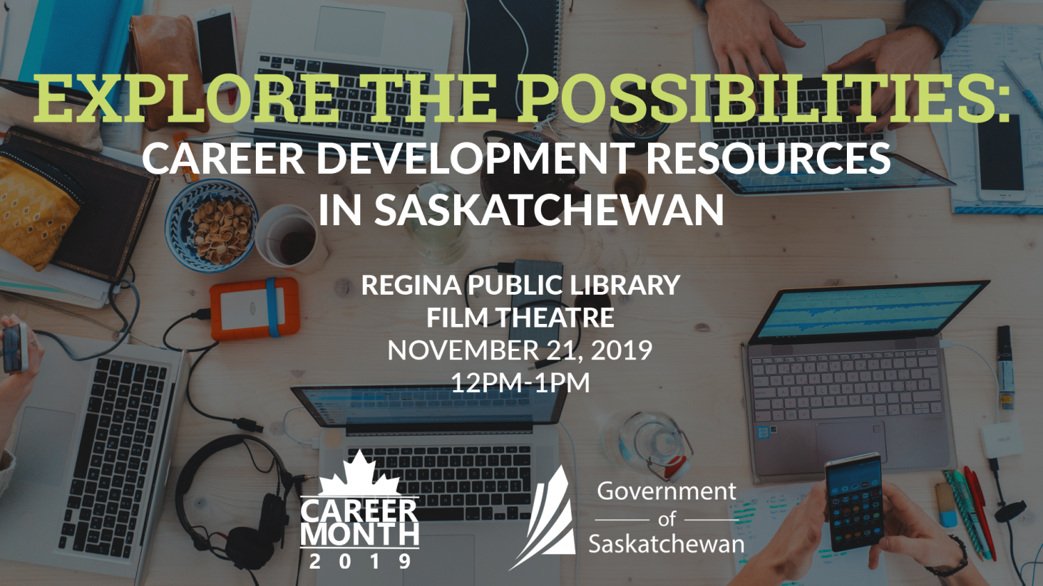 Exploring Career Development Resources in Saskatchewan - Speakers Panel - Nov. 21