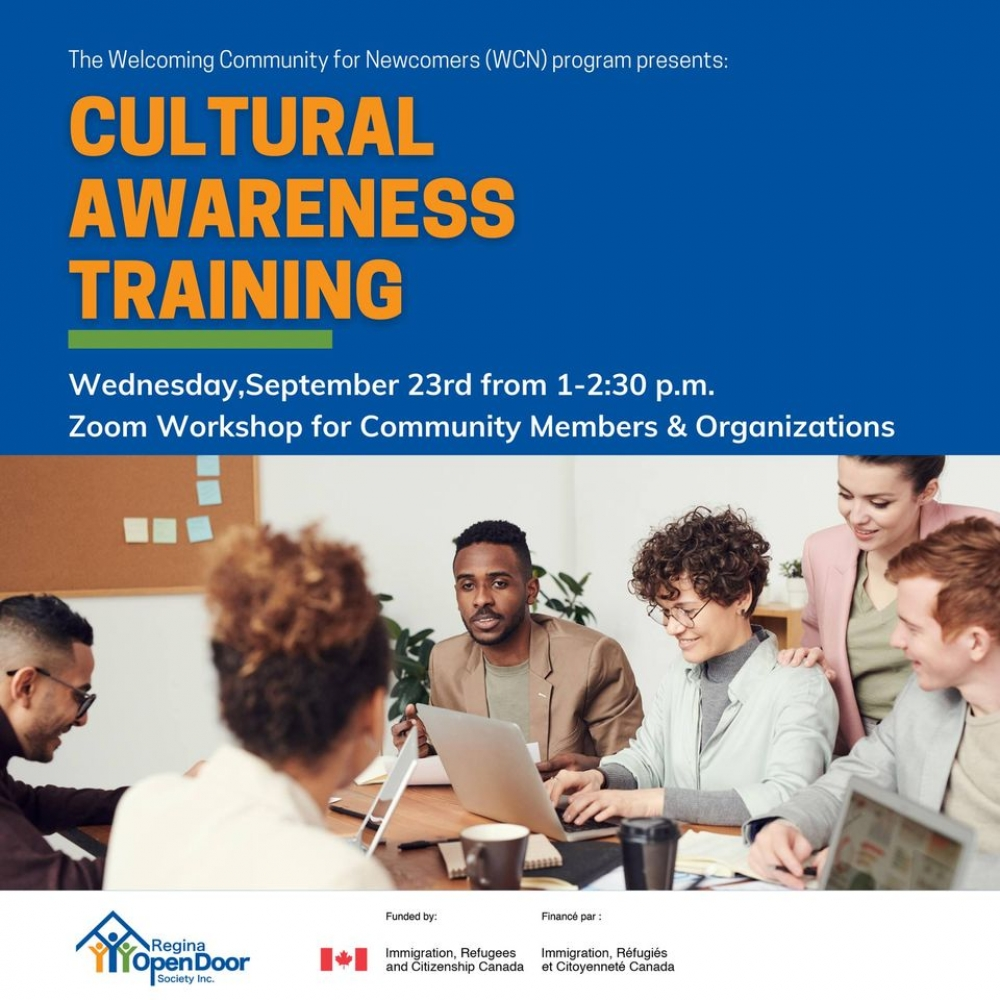 Free Cultural Awareness Training - Wednesday, Sept. 23rd