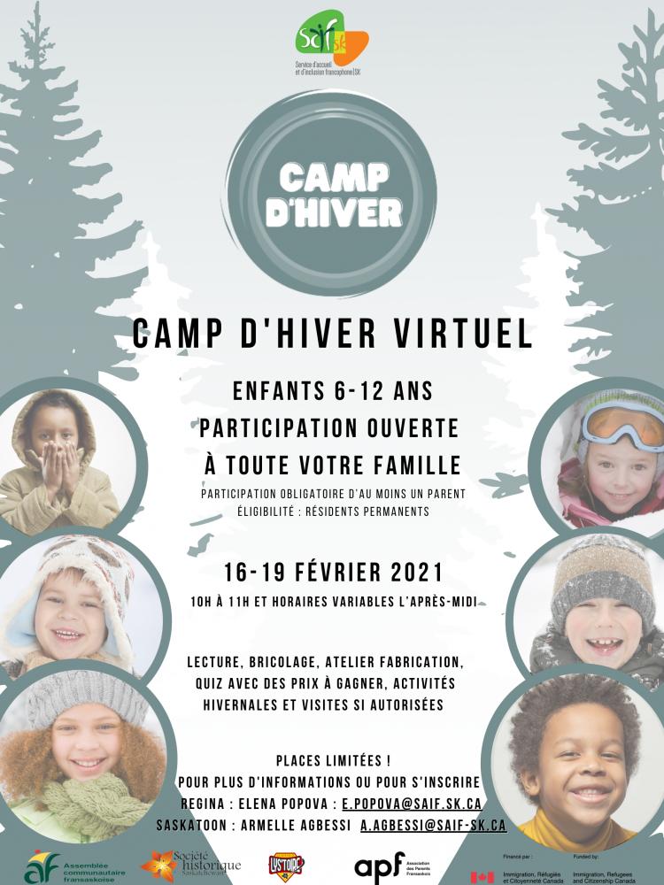 French Camp for Children During Winter Break - Register Now!