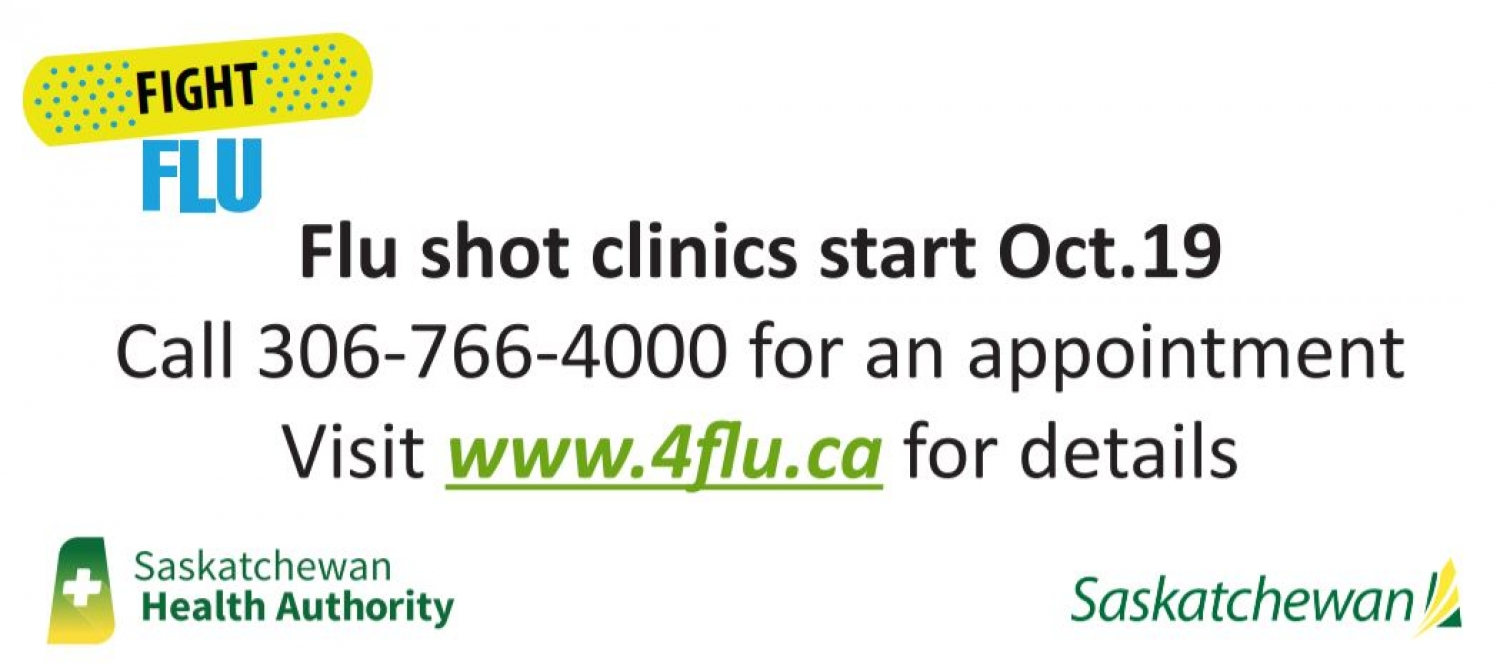 Get Your Flu Shot for Free - Starting Oct. 19th