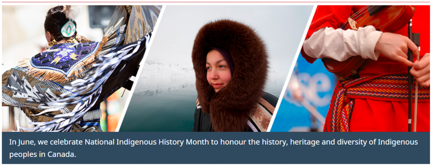 June is National Indigenous History Month in Canada!