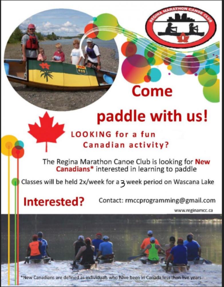 Newcomer Learn to Canoe Summer Program - Registration Extended - Starting July 12!