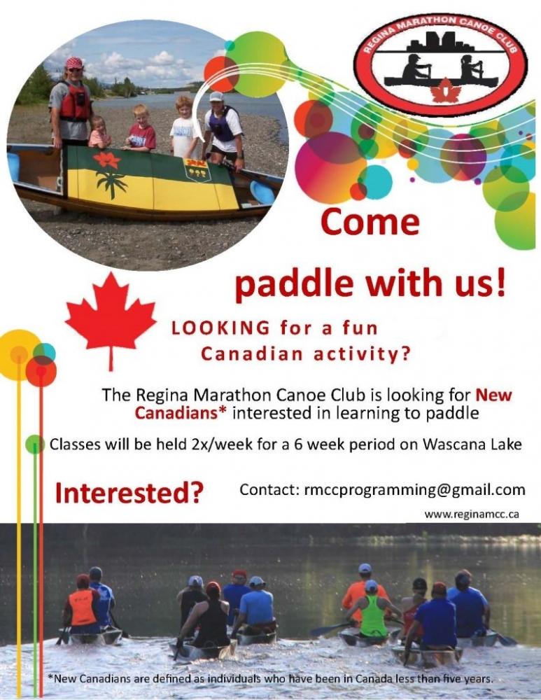 Newcomer Learn to Canoe Summer Program