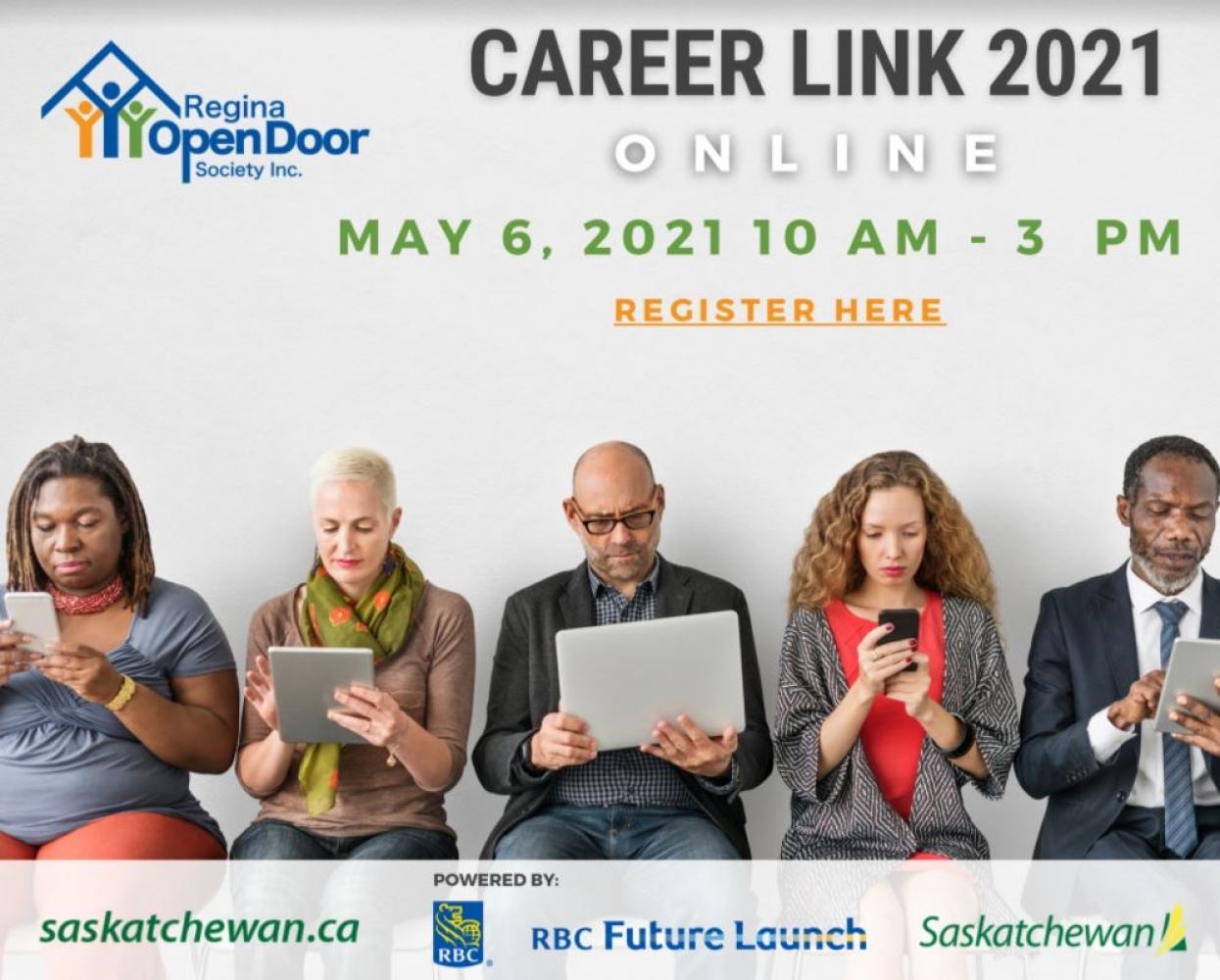 Online Career Fair for Newcomers - Thursday, May 6th