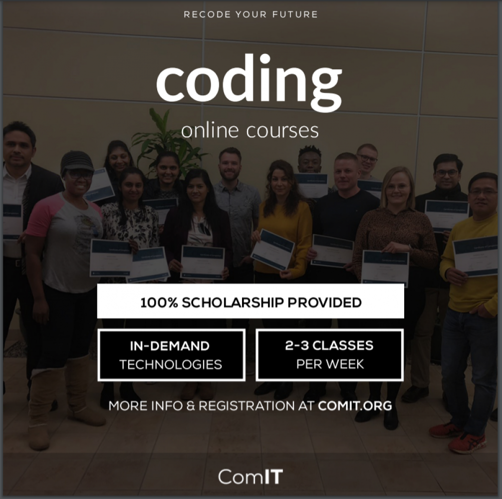 Online Coding Course based in Regina - Scholarships Available!