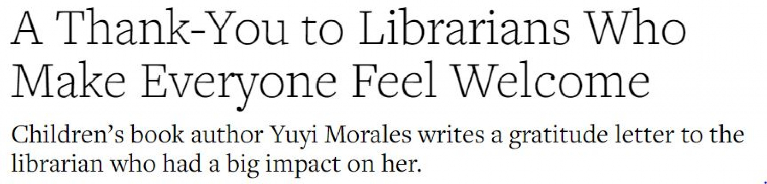 Video Highlighting the Importance of Librarians in Newcomers' Lives