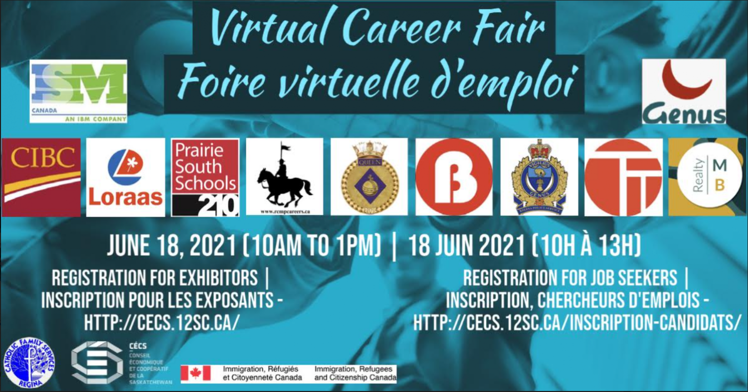 Virtual Career Fair for Newcomers on June 18!    Additional Employers Are Welcome to Participate (At No Cost)