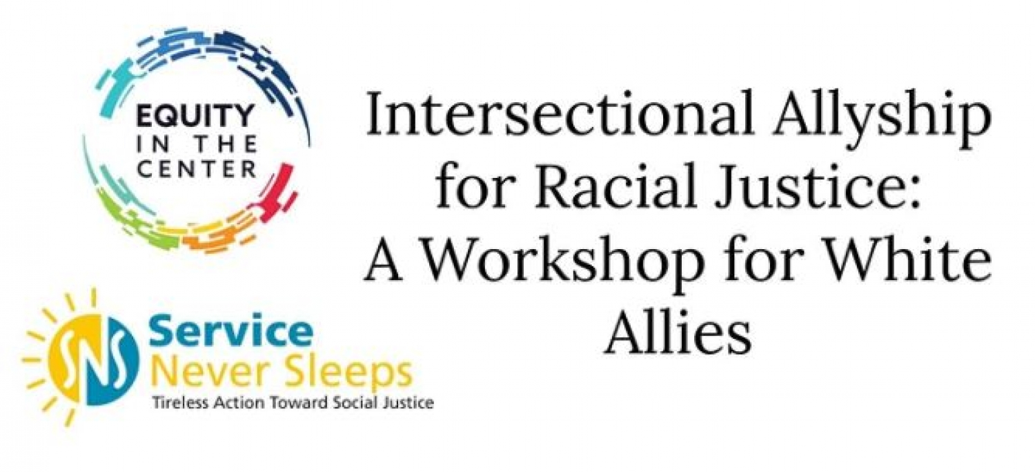 Workshop for White Allies - Apr. 6th & 7th